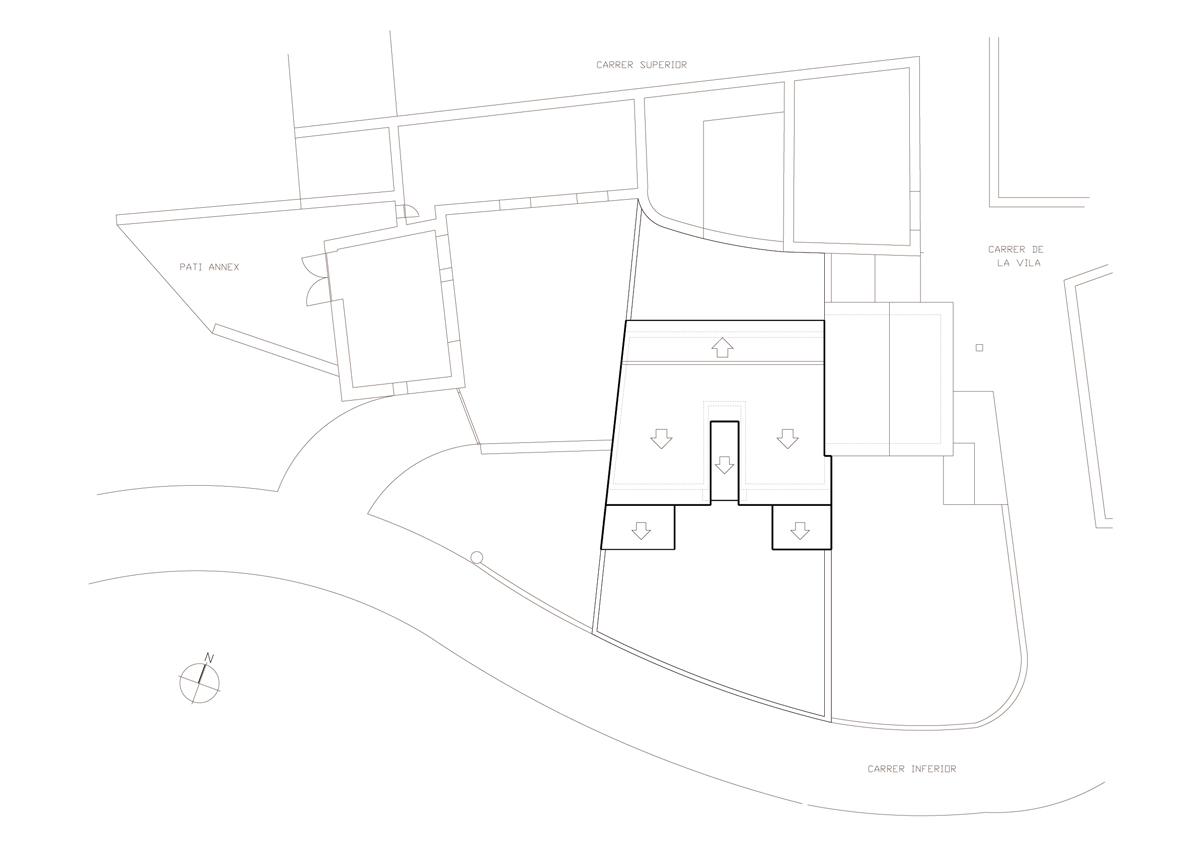 Obra nova residencial emplaçament