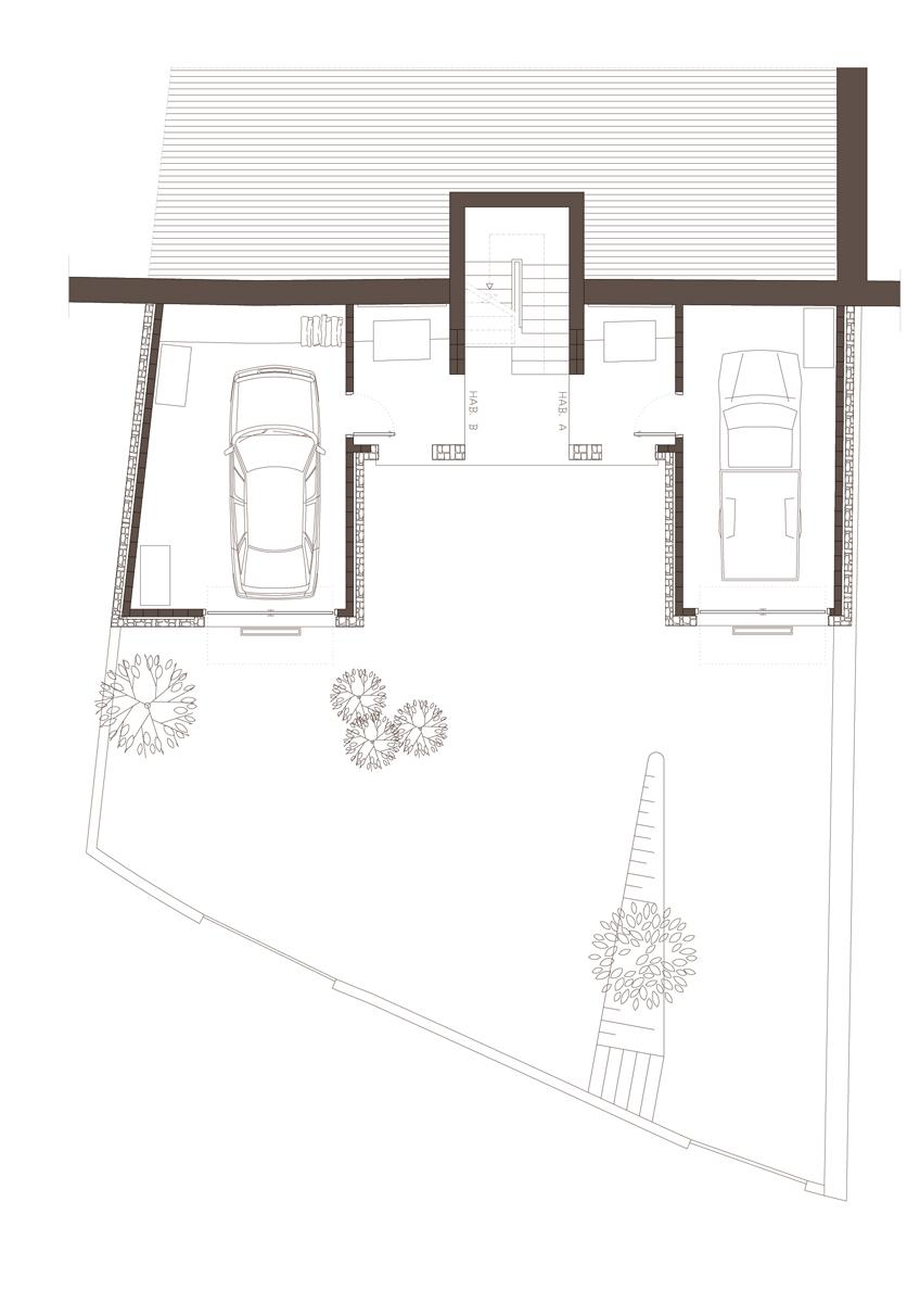 Obra nova residencial planta baixa