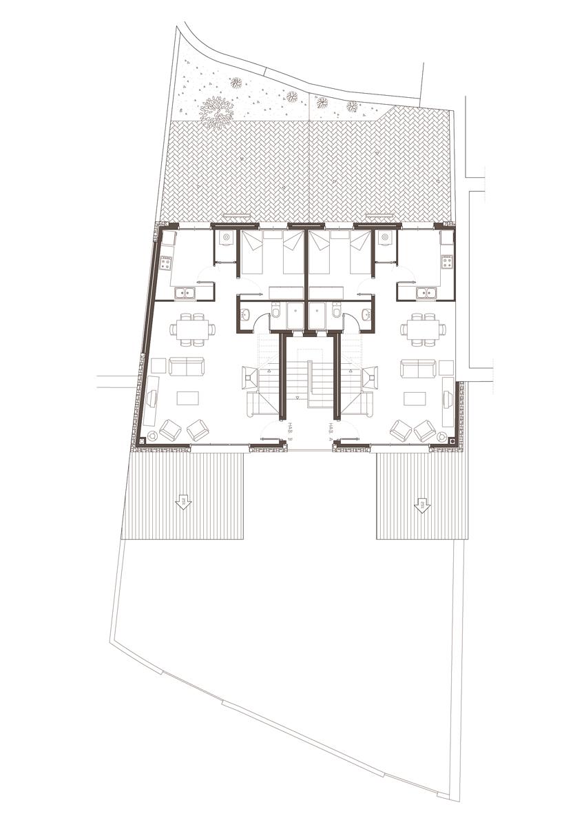 Obra nova residencial planta primera