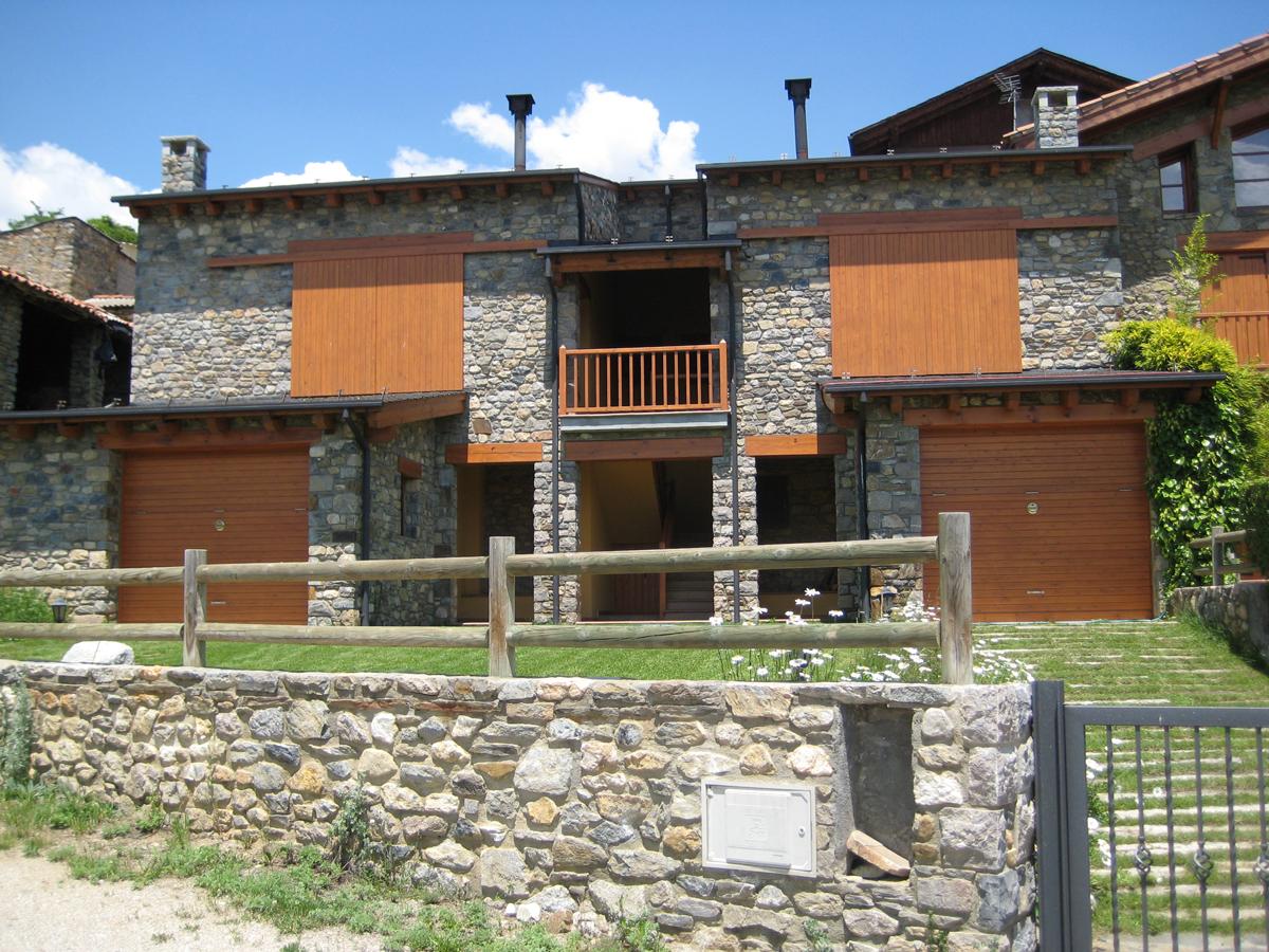Obra nova residencial façana