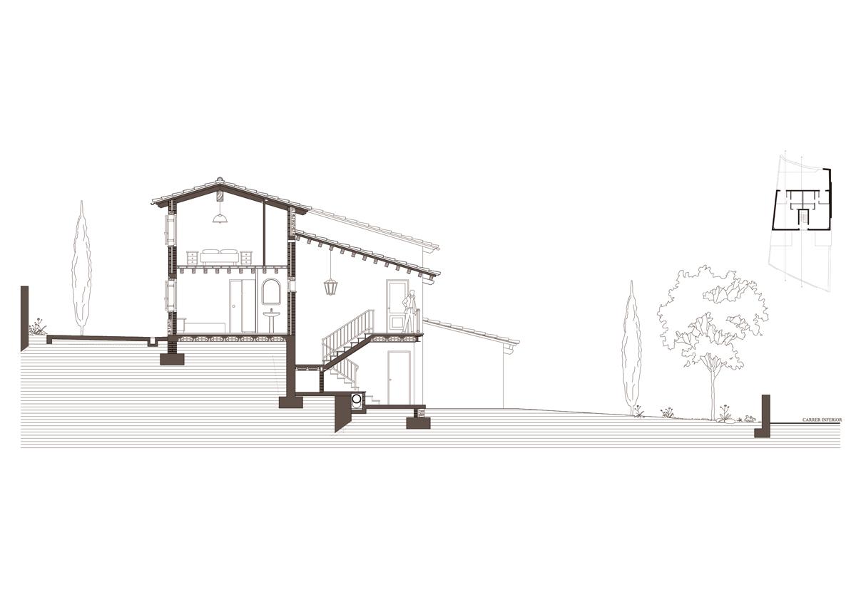 Obra nova residencial secció tranv 1