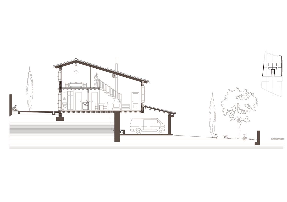 Obra nova residencial secció tranv 2
