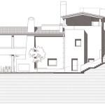 Alçat est. Projecte d'obra nova i disseny 3D: 2012 - Habitatge unifamiliar aïllat a Arenys de Mar