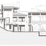 Alçat oest. Projecte d'obra nova i disseny 3D: 2012 - Habitatge unifamiliar aïllat a Arenys de Mar