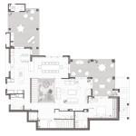 Planta baixa. Projecte d'obra nova i disseny 3D: 2012 - Habitatge unifamiliar aïllat a Arenys de Mar