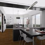 Vista 3D. Projecte d'obra nova i disseny 3D: 2012 - Habitatge unifamiliar aïllat a Arenys de Mar