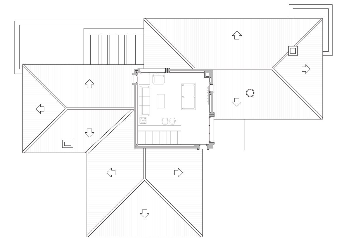 Planta 2. Projecte d'obra nova: 1993 - Habitatge unifamiliar aïllat a Matadepera