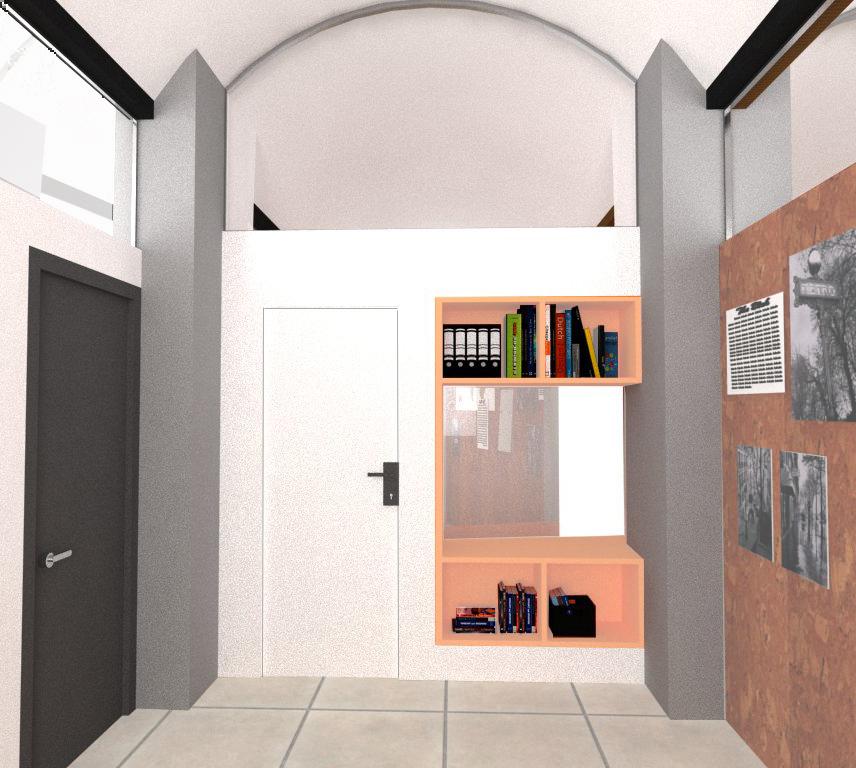 Despatx. Projecte de reforma i disseny 3D: 2013 - Formació d'un Viver d'empreses a la planta segona de l'Edifici Xifré d'Arenys de Mar