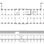Planta estat actual. Projecte de reforma i disseny 3D: 2013 - Formació d'un Viver d'empreses a la planta segona de l'Edifici Xifré d'Arenys de Mar