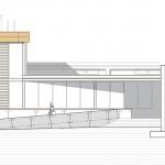 Façana lateral. Projecte d'obra nova: 2009 Escola Bressol