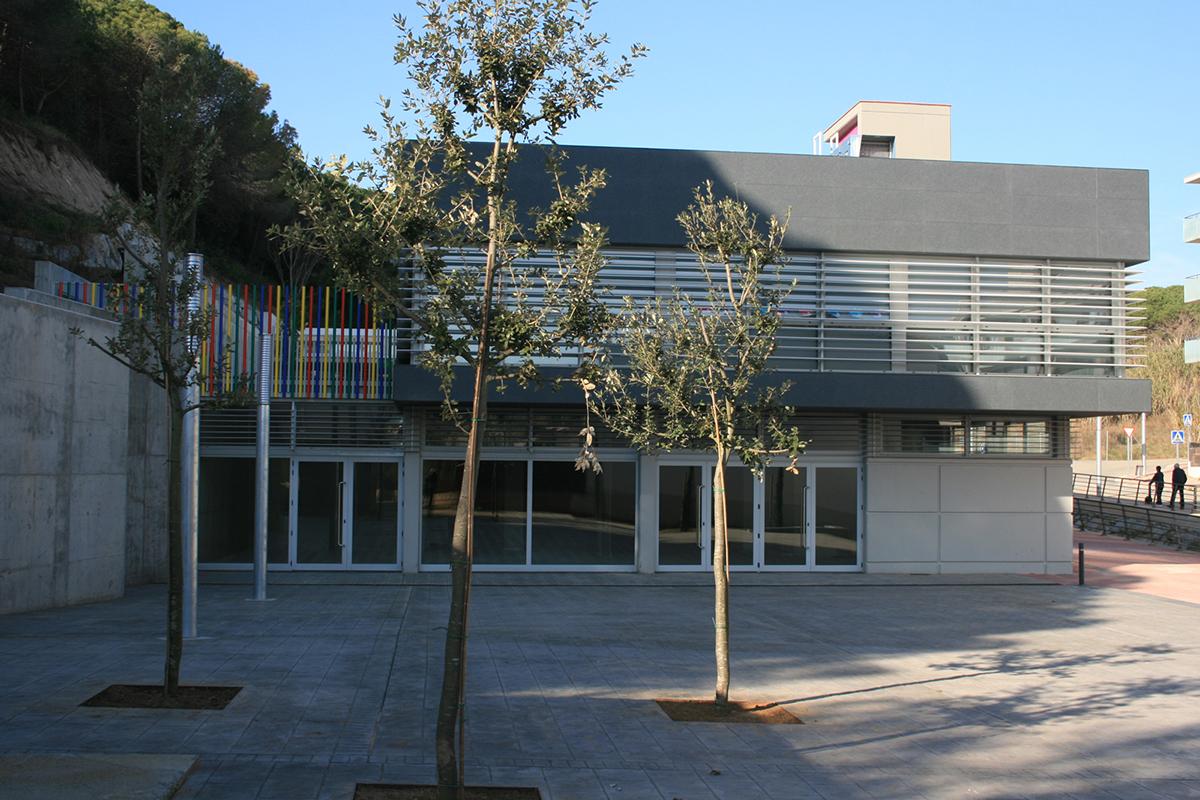 Fotografia exteriors. Projecte d'obra nova: 2009 Escola Bressol