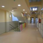 Fotografia interiors, passadís. Projecte d'obra nova: 2009 Escola Bressol