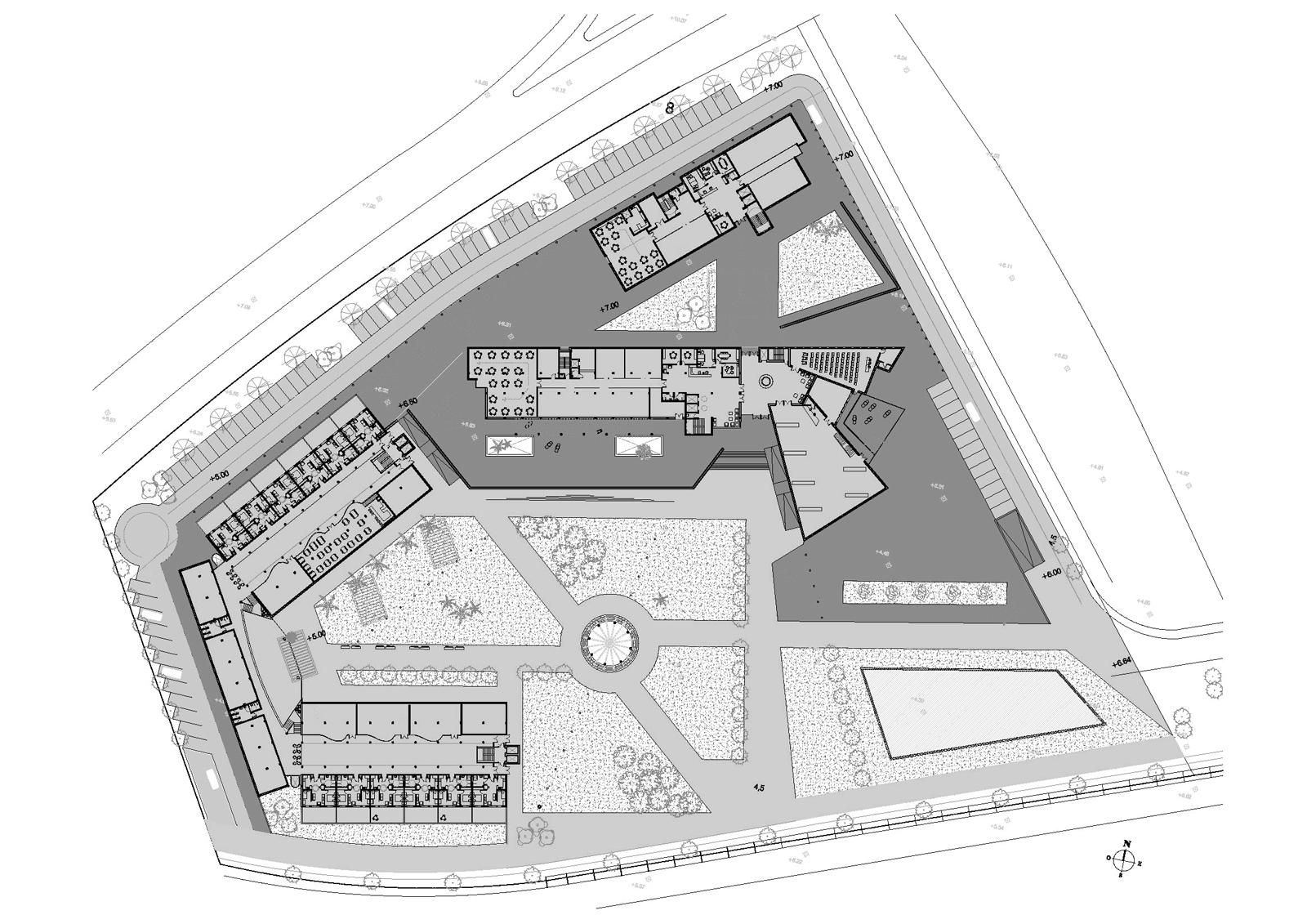 Caixetí. Projecte d'obra nova: 2006 Conjunt gerontològic i assistencial