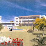 Disseny 3D exteriors. Projecte d'obra nova: 2006 Conjunt gerontològic i assistencial