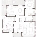 Planta baixa. Projecte d'obra nova: 1998 Habitatge unifamiliar aïllat