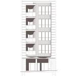 Alçat principal. Projecte d'obra nova: 2015 Hotel de 4* entre mitgeres