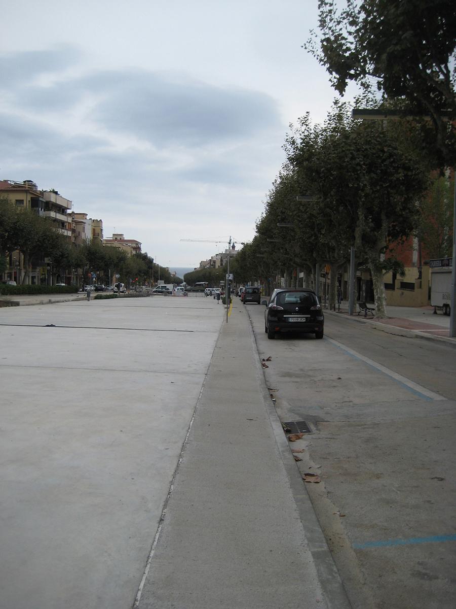 Final. Projecte d'urbanisme: 2015 Cobertura de la Riera d'Arenys de Mar