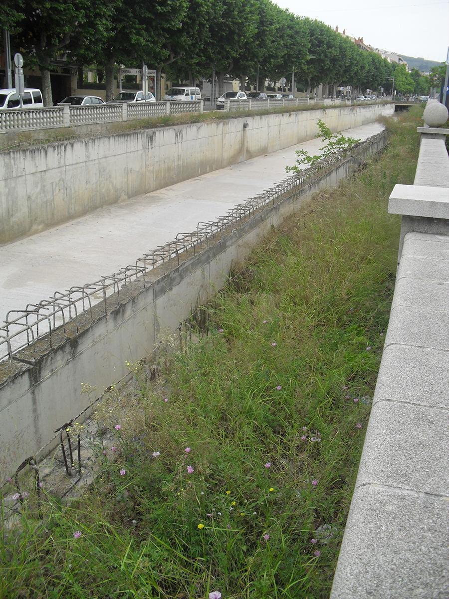 Inicial. Projecte d'urbanisme: 2015 Cobertura de la Riera d'Arenys de Mar