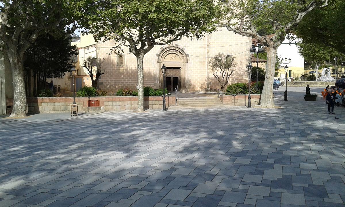 Final. Projecte d'urbanisme: 2015 Arranjament de la Plaça de l'Església d'Arenys de Munt