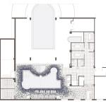 Planta. Projecte de reforma i ampliació: 2016 - Formació de piscina i spa en reforma i ampliació Hotel Port Salou